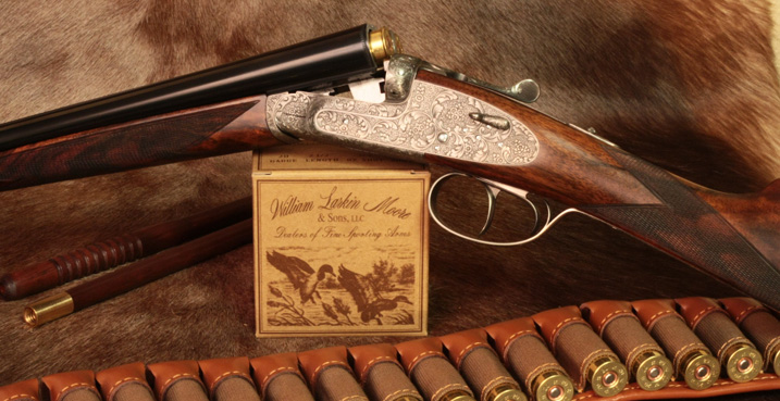 william larkin moore specializing  high quality double guns shotguns  rifles